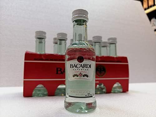 Miniatura Ron Bacardi 10X5cl 40% Alcohol: Amazon.es ...