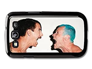 AMAF ? Accessories Red Hot Chili Peppers Rock Band RHCP Anthony Kiedis and Flea case for Samsung Galaxy S3