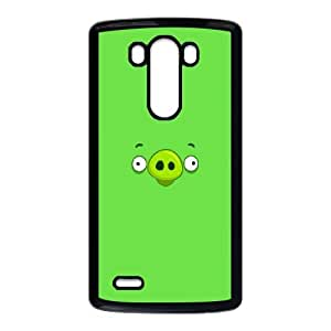 LG G3 Cell Phone Case Black Angry Birds Small Pig SUX_095378