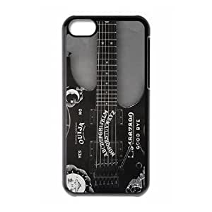 High Quality Specially Designed Skin cover Case kirks guitar iPhone 5c Cell Phone Case Black