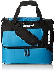 Erima GmbH 723573 Bolsa de Deporte con Compartimento Inferior, Curacao/Negro
