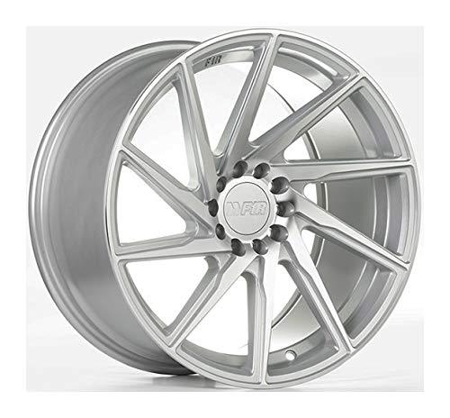 18x8.5 F1R F29 Machine Silver Wheel/Rim Bolt Pattern(5x112/5x114.3) Offset (45) Part ()