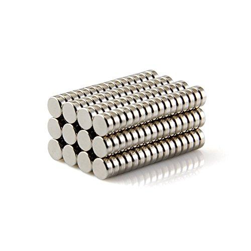 Magnetastico/® Super-aimant en n/éodyme Magnet pour tableau d/'affichage Aimant permanent Magnet pour tableau interactif Aimants ultra forts Lot de 10 aimants n/éodymes N52 disque 20x5 mm