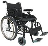 """New Karman KM-8520 ( KM8520F22W ) Lightweight Heavy Duty Wheelchair , 22"""" Seat Width"""