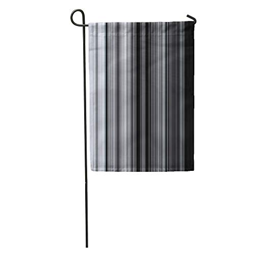 Semtomn Garden Flag Abstract Thin Colorful Lines Pattern for Presentations Beautiful Chart Color Home Yard House Decor Barnner Outdoor Stand 12x18 Inches Flag