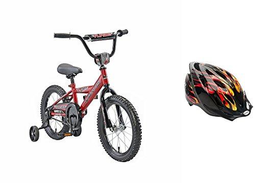 Best Kid's Bicycle & Helmet Bundle For Boys | 16