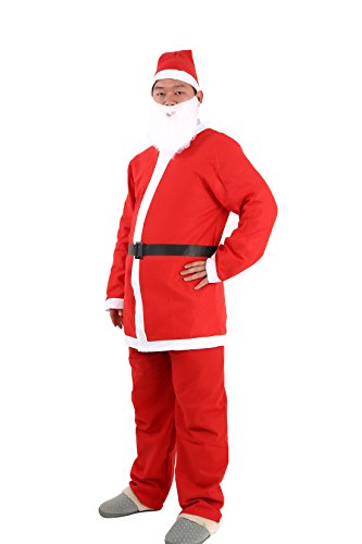 Adult Santa Costumes Holiday Pub Crawl Women Suit With Belt (Santa Pub Crawl)