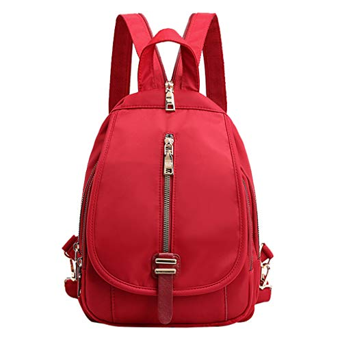 - Pengy Rucksack Nylon Backpack School Bag Unisex Backpack Lightweight Daypack Anti-Theft Bags