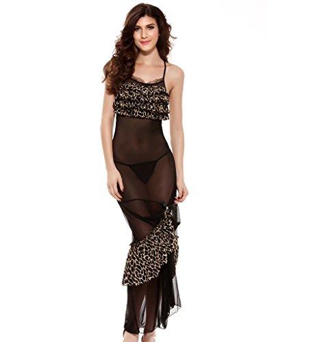 Eternatastic Womens Leopard Nightgown NightClub product image