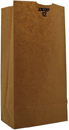 Duro Bag Mfg Grocery Bag, 12#, Brown, 500/bale 18412
