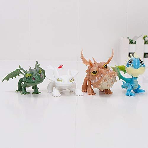 Baby Friend /& Rhinoceros White Night Fairy Tale Art Designer Toy Figurine Doll