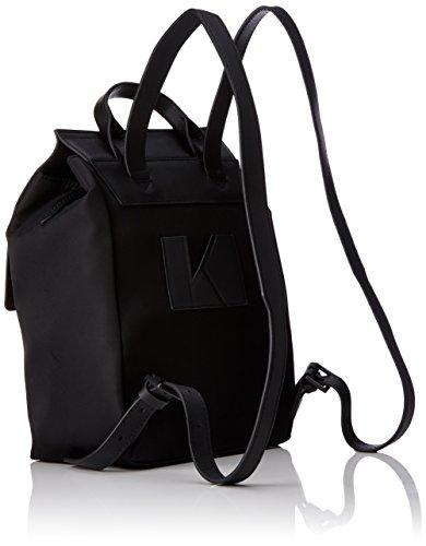 Kendall + Kylie Annabelle, Zaini Donna, Nero (Black - Black), 12x26x22 cm (B x H x T)
