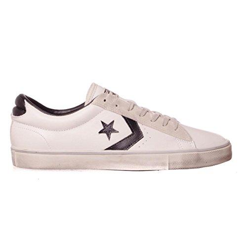converse pro leather vulc ox white black 41