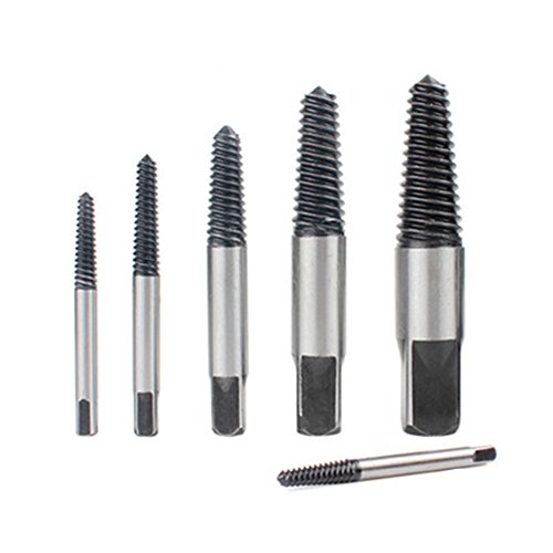 Broken Bolt and Damaged Screw Extractor 6 Piece Kit by Rekukos As Seen On Tv Screwdriver