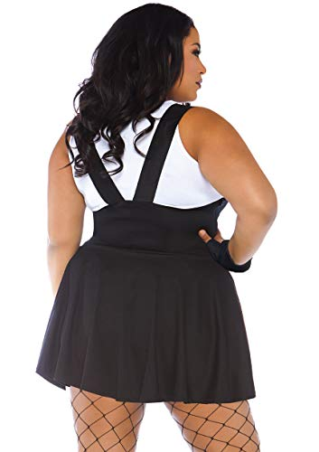 2PC Sultry SWAT Officer k dress with buckle