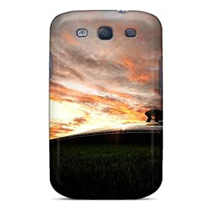 Durable Defender Case For Galaxy S3 Cover(twilight Of The Aircraft)