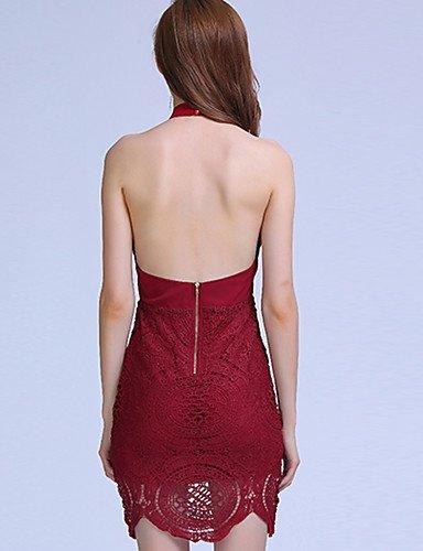 una SHAUIGUO Street linea nbsp;– da donna sera chic nbsp;solido colorato abito Dress M da formale Ywpnqxr8Y