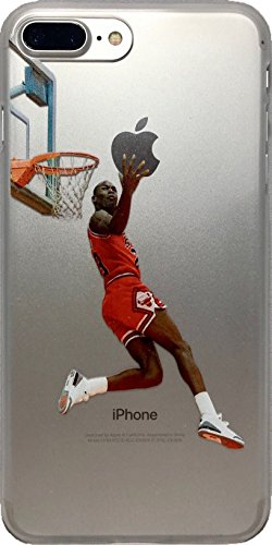 Jordan Basketball Player - ECHC Soft TPU Basketball Case with Your Favorite Past and Present Players Compatible for iPhone (Jordan Reverse Dunk, iPhone 6)