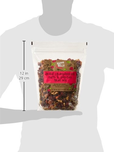 Amazon Brand - Happy Belly Dried Cranberries, Nuts & Pepitas Trail Mix, 42 ounce by Happy Belly (Image #6)