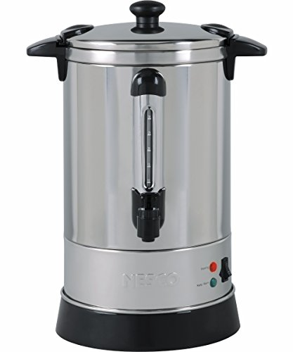 30 Cup Stainless Steel Coffee Urn w/ Locking Lid and Stay Cool Handles