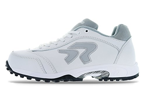 (Ringor Dynasty Turf Shoe 8.5 White/Silver)