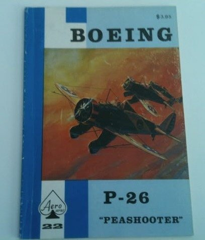 Boeing P-26 Peashooter - Aero Series 22 by Edward T. for sale  Delivered anywhere in USA