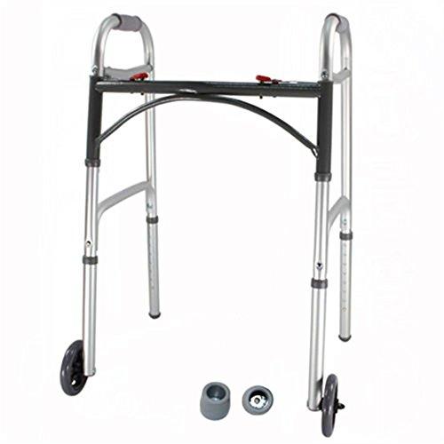 SAILUN Faltbar Höhenverstellbar Gehbock Rollator Gehgestell Gehhilfe Gehwagen Gehstütze mit Rädern
