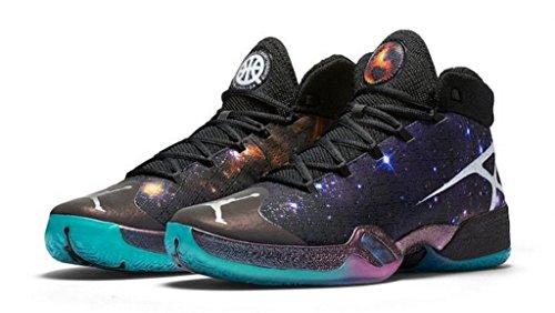 Nike Air Jordan XXX Q54 Cosmos 863586 010 Size 15 Black/White
