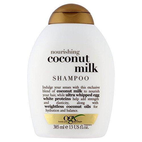 ココナッツミルクシャンプー385ミリリットル x4 - Ogx Coconut Milk Shampoo 385ml (Pack of 4) [並行輸入品] B07116YQXQ