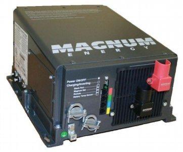 Magnum Energy 2kW 12V 100A Inverter/Charger w/ 2 20A Brkrs ME2012-20B