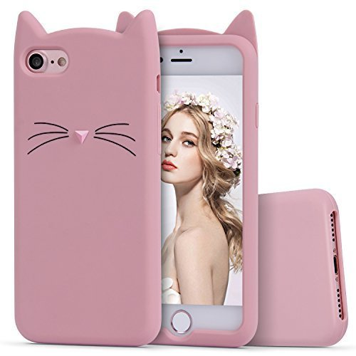 M7 Silicone Back Cover for Apple iPhone 6/6S   Pink