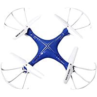 Owill DisoC04 2.4GHz 4CH 6 Axis Gyro RC Quadcopter Kids Remote Control Helicopter Toys (Blue)