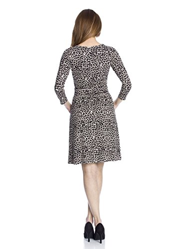 Vive Maria Leo Pin-Up Kleid leopard allover-Druck