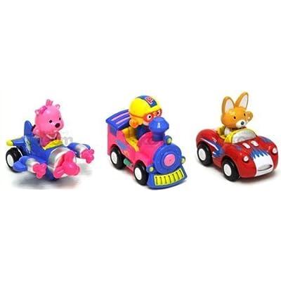 Pororo & Friends Train_Car_Plane: Toys & Games