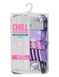 Unicorn Girls Underwear   Bikinis 10-Pack Size XL (16)