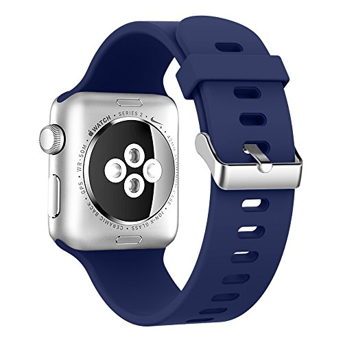 Alritz Silicone iWatch Replacement Stainless