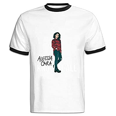 Alessia Cara Know-It-All Tour 2016 Poster T Shirt For Men