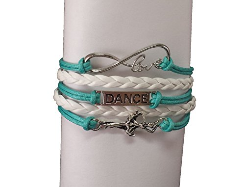 Hip Hop Dance Recital Costumes (Dance Bracelet- Girls Dance Jewelry - Perfect Gift For Dance Recitals, Dancers and Dance Teams)