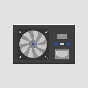PWR SUPPLY, 450W, DELL DPS-450DB C REV.01, CN-05P115 REV.A01