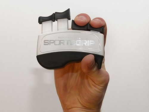 SPORTSGRIP Hand and Finger Exerciser, Medium (5 lb / 2.3kg)