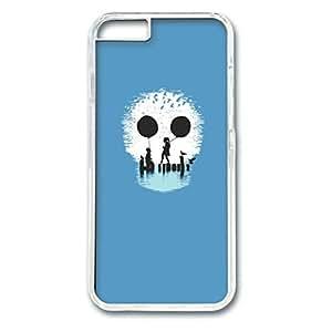 iCustomonline Creative Skeleton Designed Hard PC Transparent Case Cover Skin for iPhone 6 (4.7 inch)