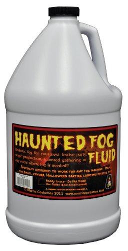 [FOG FLUID JUICE GALLON HAUNTED HOUSE Fog Machine Prop Scary Realistic Halloween - IA234] (Small Fog Machine)