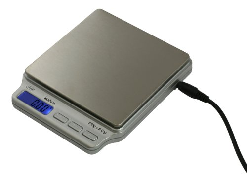 American Weigh Scales SC-501-A Digital Personal Nutrition Scale with AC Adapter