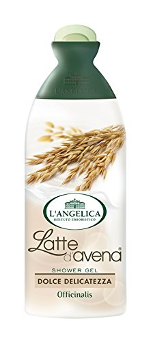 L 39 angelica officinalis shower gel latte d 39 avena with oat milk fluid ounce 250ml - Angelica kitchen delivery ...
