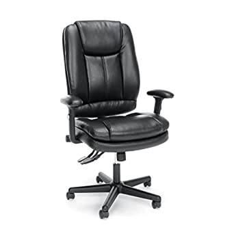 Essentials High Back Leather OfficeComputer Chair Ergonomic