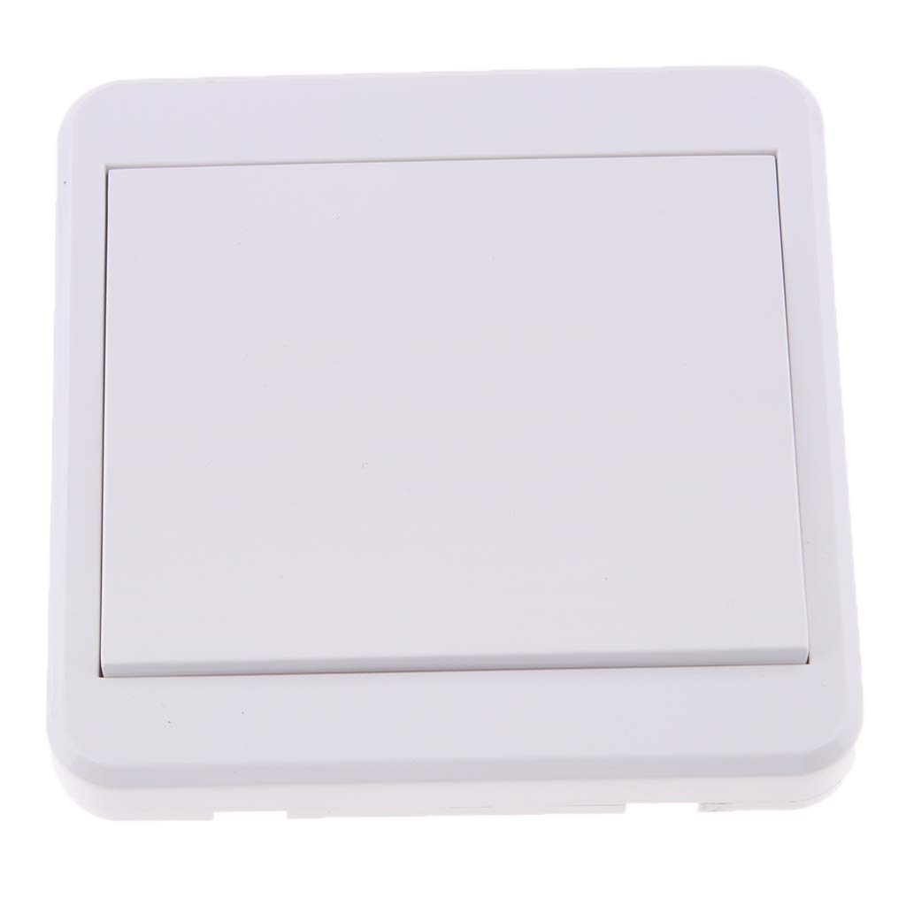 Baosity 1-Way Fireproofing Wireless Remote Control Light Switch Battery No Wiring Easily and Quickly Create Remote Switch for Lamps Appliances