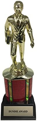 Dundie Award Trophy with Column (Deluxe)