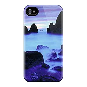 Durable Protector Case Cover With Rodeo Beach California Hot Design For Iphone 4/4s