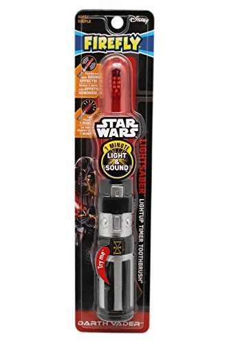Price comparison product image Firefly Star Wars Darth Vader Lightsaber Light-Up Timer Toothbrush