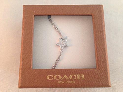 Coach BX DEL Pave Star Bracelet 90309